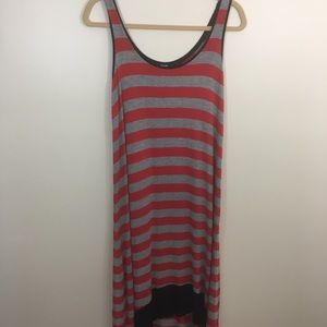 Kensie high/low maxi dress, size small